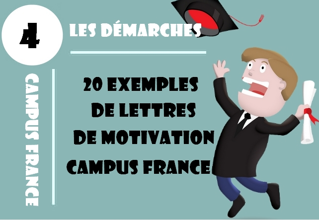 20 Exemples De Lettres De Motivation Campus France Etudier