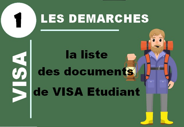documents visa étudiant france